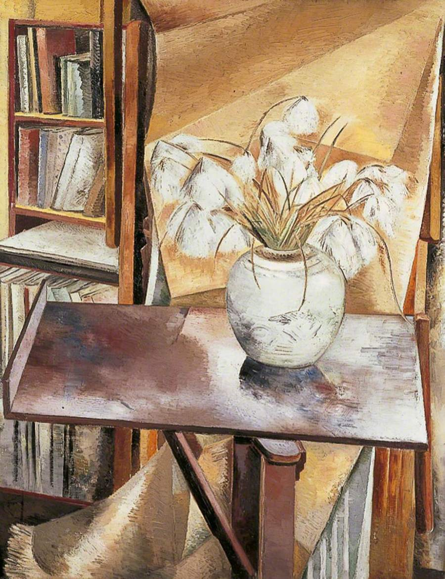 Nash, Paul, 1889-1946; Still Life with Bog Cotton