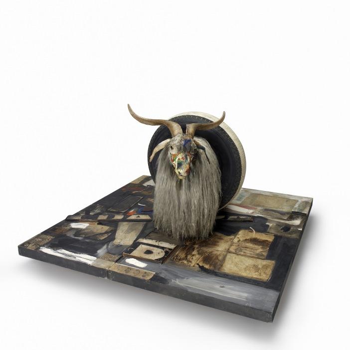 Rauschenbergs goat