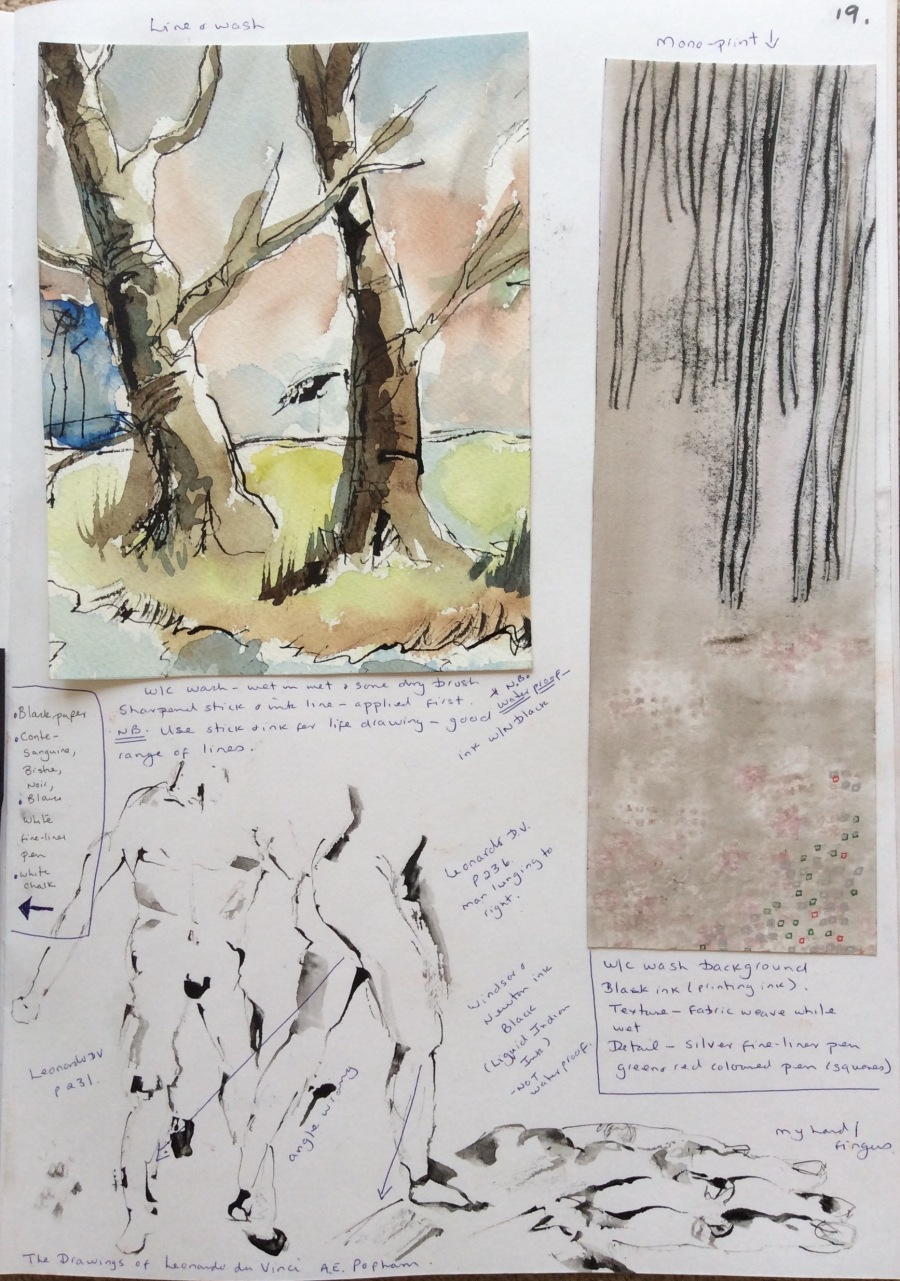 Trees and Leonardo