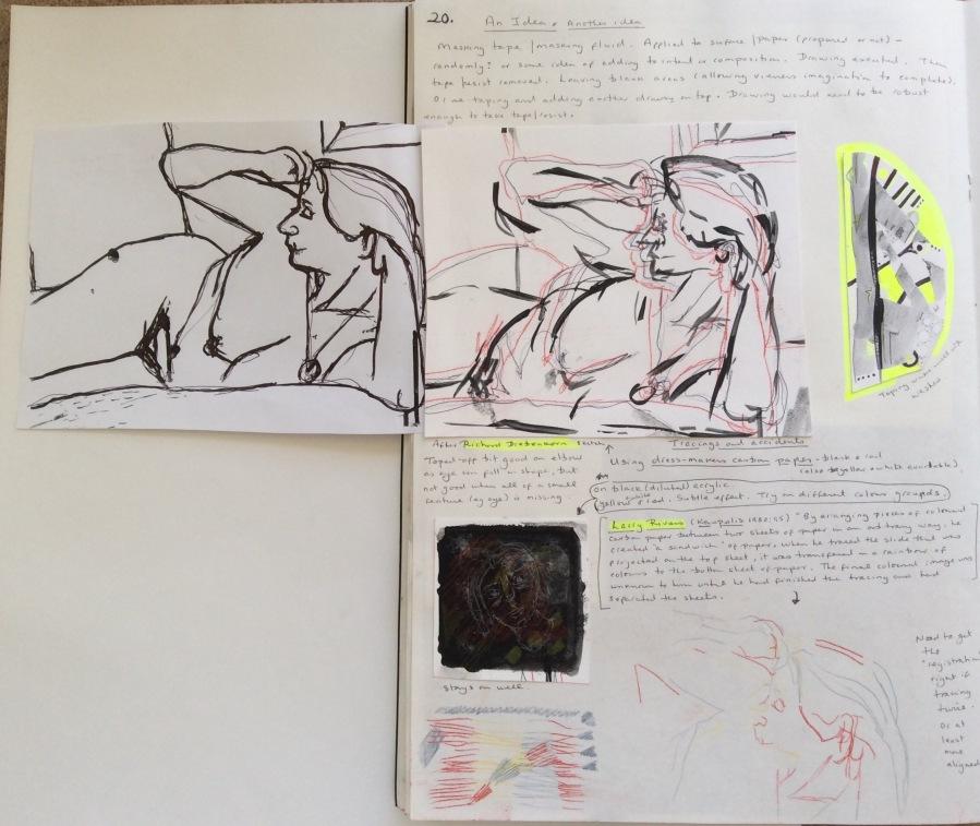 Sketchbook Diebenkorn