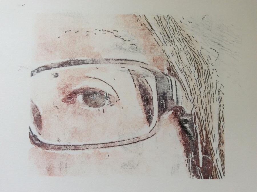 My eye print